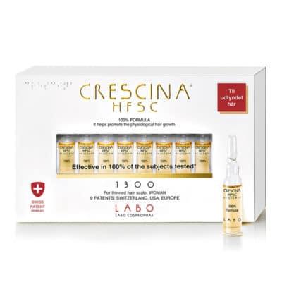 crescina, mod kvindeligt hårtab og hårudtynding