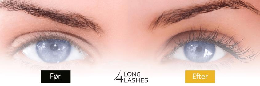 LONG4LASHES nr. 1 indenfor vippe og bryn forlængelse